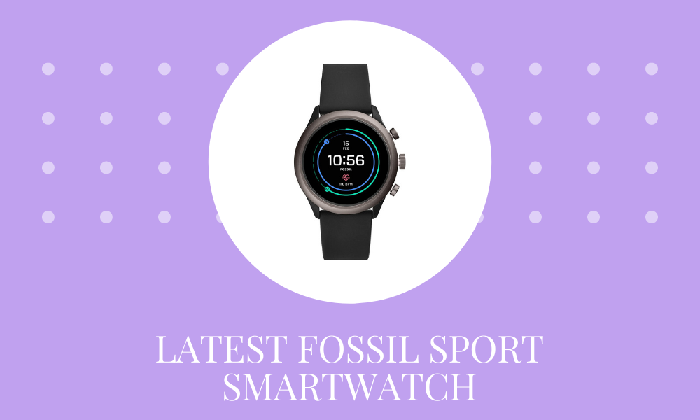 3 Latest Fossil Sport Smartwatch in India 2021 – Be a sporty